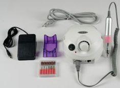 Elektromos műköröm csiszoló  készlet Anikó  fehér szinű  US -202  tipusu  magyar nyelvű garanciával Pink, Pink Hair, Roses