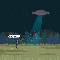 ... x-files ufo animated GIF
