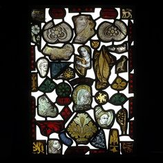 Panel        Place of origin:        England, Great Britain (made)      Date:        14th century to 15th century (made)      Artist/Maker:        Unknown (production)      Materials and Techniques:        Stained glass      Credit Line:        Given by E.E. Cook Esq.