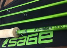 Sage MOD 690-4 Fly Rod (9' 6wt 4pc) Brand New Tube/Sock, Warranty Card Free Line