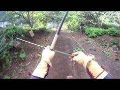 Horseback Archery Training in Enoura, Japan.    Filmed with GoPro Hero HD.