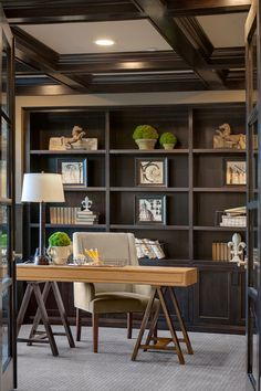Trendy Home Office Decor Male Ideas Home Office Space, Home Office Furniture, Home Office Decor, Home Decor, Office Ideas, Office Interior Design, Office Interiors, Home Interior, Home Staging