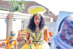 Bontle Bride Magazine is a wedding magazine with a flavour of culture featuring traditional weddings, tips and ideas. Zulu Wedding, Wedding Blog, Wedding Things, African Fashion Dresses, African Dress, South African Traditional Dresses, Traditional Wedding Attire, African Wedding Attire, Shweshwe Dresses