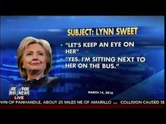 Clinton Corral - Hackers Exposes Campaign Staff Surveillance - Fox & Friends | CNN Times
