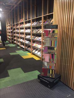 Daycraft notebooks on display, just inside the door at Magnation Emporium in Melbourne. Bookstores, Outlets, Notebooks, Melbourne, Retail, Shelves, Display, Doors, Design