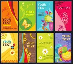 48 best business card templates plantillas images on pinterest 500 tarjetas de visita editables gratis id card templateflower cardssample business reheart Image collections