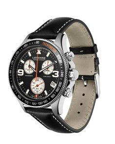 Black on black. #lemarq #monza #chrono #chronograph #swissmade #eta #quartz #horloge