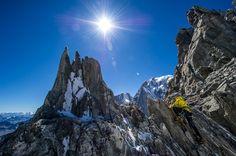 S-canto de La Tour Ronde. Mont Blanc