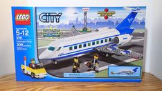 LEGO City Passenger Plane for sale online Lego Airport, Lego Sets For Sale, Towing Vehicle, Lego City Sets, Fox Dog, Ebay Usa, Game Info, Star Destroyer, Lego Building
