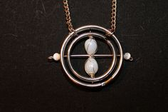 A twist on a Time Turner necklace
