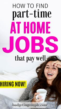 Find a part-time job that pays well and become financially independent. Pay off your house, your car, your boat, and start living your best life. Earn Money From Home, Earn Money Online, Make More Money, Ways To Save Money, Online Jobs, Money Saving Tips, Extra Money, Money Hacks, Extra Cash