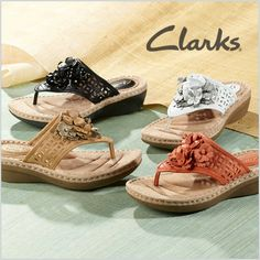 Searching for an everyday sandal? These Clarks Posey Zela Thong Sandals look great with just about anything!