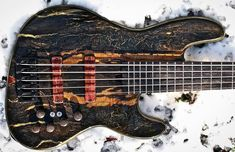 Bass Incredible 「@marcobassguitars ・・・ Stay warm by wood shedding in the winter. #bass #bassist #bassplayer #practice #marcobassguitars」