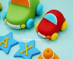 Fondant Car Cake Toppers