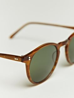 Oliver Peoples unisex O'malley Sunglasses,brown