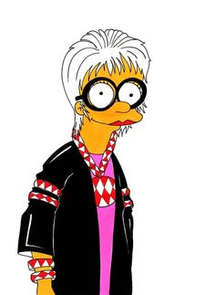 Iris Apfel --- expressing your Inner Marge
