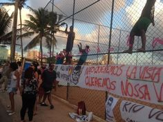 Blog do Rio Vermelho, a voz do bairro: Manifestação, arte, musica e bafafá com a PM