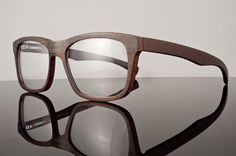 Wood Eyeglasses $840.00 why so expensive! these are so neat