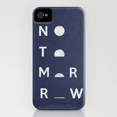 NOTOMORROW iPhone case