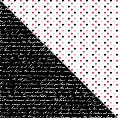 Free Printable 2 Digital Paper 12x12 love in paris