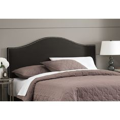 Found it at Wayfair - Cyd Nail Button Upholstered Headboard
