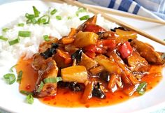 Gnocchi, Thai Red Curry, Food And Drink, Chicken, Sweet, Ethnic Recipes, Asia, Pineapple, Candy