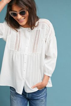Milla Lace Tunic | Anthropologie