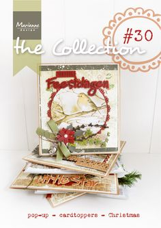 The Collection #30 Petra's Grapes, Paris horizon, wine, postcards, Basic shape Craftables, Cardtopper sets, Victorian Christmas, Happy Holiday Text Craftables, Snowflake, Pop-up Creatable, Mattie's Mooiste Summerflowers, Design Folders Regency & Marakesh