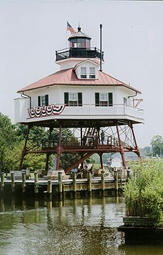 Drum Point Lighthouse  Solomons Island, Maryland