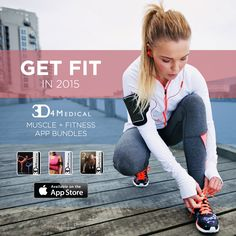 Get fit in 2015 with 3D4Medical apps! #workout #fitness #gym #healthy #lifestyle https://itunes.apple.com/us/app-bundle/3d4medicals-muscle-fitness/id917658791?mt=8