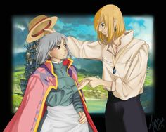 Fanart: Sophie and Howl - Howl's moving castle by TheBananafly on ...