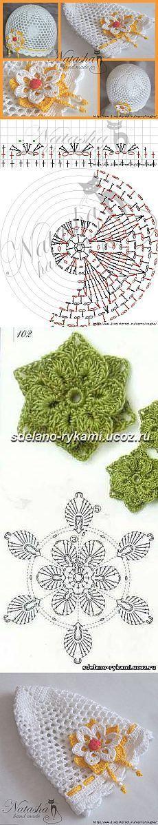 Kid hat crochet - created via