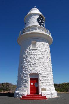 Cape Naturaliste Lighthousesouth western region ofWestern Australiaat the western edge of theGeographe Bay Australia -33.537068, 115.018786