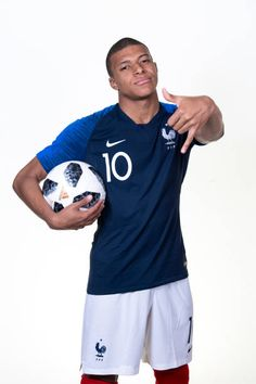 Kylian Mbappe of France poses for a portrait during the official FIFA World  Cup 2018 portrait 8f02d7c300cf2