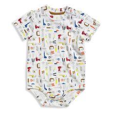 "Carhartt® ""Tools Are Cool"" Short Sleeve Bodyshirt in White/Multi - BedBathandBeyond.com"