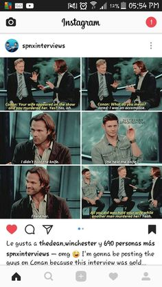 Only to the Supernatural Fandom does this not sound concerning. - Only to the Supernatural Fandom does this not sound concerning. Jensen Ackles, Jared Padalecki, Misha Collins, Dean Winchester, Supernatural Destiel, Castiel, And So It Begins, Super Natural, Hilarious