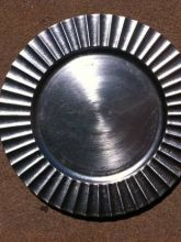 Silver Plate Chargers/ Accent Plates