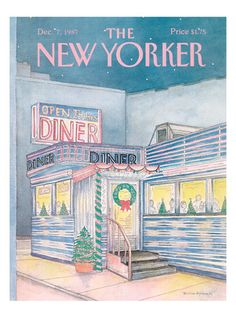 Holiday New Yorker Covers, Prints and Posters at Art.co.uk