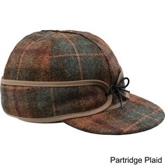 This brimmed cap with its adjustable earband will help keep you warm and safe from the harshest of elements.
