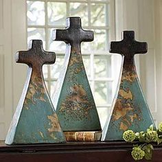 Clay Crosses, Points to Jesus Christ.
