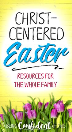 Help your family understand the deep meaning of Easter and why we celebrate! Use these Christ-centered Easter resources to teach them the gospel in fun ways.   keep Christ in Easter, Easter and Jesus, Christian Easter resources, Christian family, Easter activities, Easter books for kids, Easter devotionals