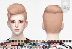 Silent Night: WINGS HAIR OS0508 M recolor - Sims 4 Hairs - http://sims4hairs.com/silent-night-wings-hair-os0508-m-recolor/
