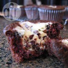 Chocolate Cream Cheese Muffins @ allrecipes.com.au