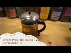 How to make loose leaf tea easily and quickly. Tools needed: Hippocrateas Organic Tea Fresh water French Press Measuring spoon Tea Kettle Tea cups Enjoy! How To Make Tea, Loose Leaf Tea, French Press, Tea Cups, Coffee Maker, Medicine, Food, Coffee Maker Machine, Coffeemaker