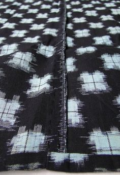 Ikat - Cotton Indigo
