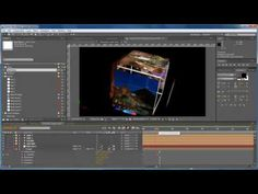 3D Cube After Effects Tutorial