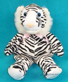 KELLY TOY Bean Pals Zebra Stripe Plush Doll Stuffed Animal