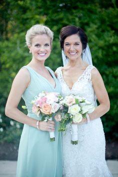The Bride and a Bridesmaid!!! ♥AshlynnRaquel :) www.AshlynnRaquel.com + www.facebook.com/AshlynnRaquelArtistry