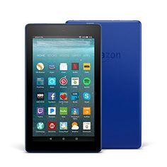 """All-New Fire 7 Tablet with Alexa, 7"""" Display, 8 GB, Marin...   #amazon"""