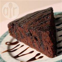 Фото рецепта: Шоколадный торт на растительном масле
